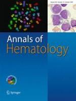 Annals of Hematology 10/2009