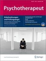 Psychotherapeut 5/2009