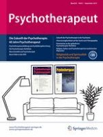 Psychotherapeut 5/2015