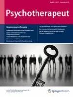Psychotherapeut 5/2016