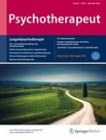 Psychotherapeut 6/2016