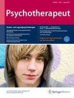 Psychotherapeut 1/2017