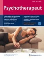 Psychotherapeut 3/2017