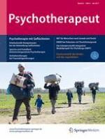 Psychotherapeut 4/2017