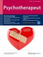 Psychotherapeut 6/2017