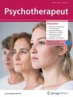 Psychotherapeut 1/2019