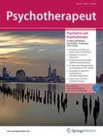 Psychotherapeut 4/2019