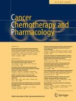 Cancer Chemotherapy and Pharmacology 6/2014