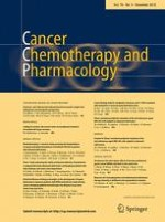Cancer Chemotherapy and Pharmacology 5/2016