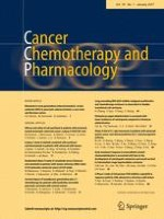 Cancer Chemotherapy and Pharmacology 1/2017