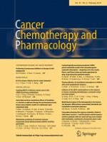 Cancer Chemotherapy and Pharmacology 2/2018