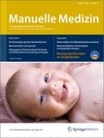Manuelle Medizin 3/2011