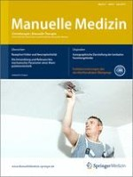 Manuelle Medizin 3/2013