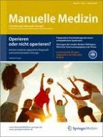 Manuelle Medizin 1/2014