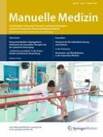 Manuelle Medizin 5/2017