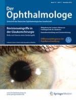 Der Ophthalmologe 11/2016