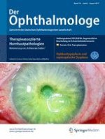 Der Ophthalmologe 8/2017