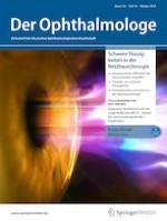 Der Ophthalmologe 10/2019