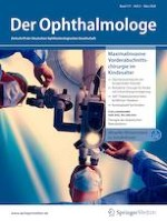 Der Ophthalmologe 3/2020