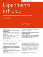 Experiments in Fluids 10/2019