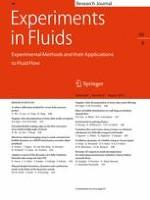 Experiments in Fluids 8/2019