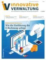 Innovative Verwaltung 5/2019
