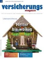 Versicherungsmagazin 4/2013