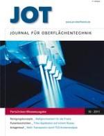 JOT Journal für Oberflächentechnik 10/2011