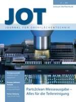 JOT Journal für Oberflächentechnik 10/2013