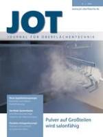 JOT Journal für Oberflächentechnik 8/2014
