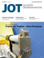 JOT Journal für Oberflächentechnik 10/2016