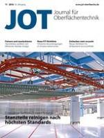 JOT Journal für Oberflächentechnik 11/2016
