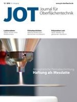 JOT Journal für Oberflächentechnik 12/2016