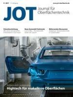 JOT Journal für Oberflächentechnik 9/2017