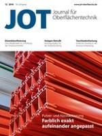 JOT Journal für Oberflächentechnik 12/2018
