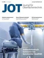 JOT Journal für Oberflächentechnik 6/2018