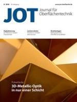 JOT Journal für Oberflächentechnik 8/2018