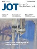 JOT Journal für Oberflächentechnik 10/2019