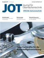 JOT Journal für Oberflächentechnik 1/2019