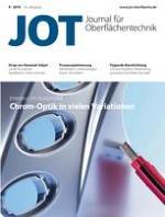 JOT Journal für Oberflächentechnik 9/2019