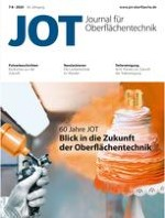 JOT Journal für Oberflächentechnik 7-8/2020