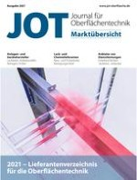 JOT Journal für Oberflächentechnik 7/2020