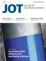 JOT Journal für Oberflächentechnik 2/2021