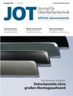 JOT Journal für Oberflächentechnik 3/2021