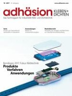 adhäsion KLEBEN & DICHTEN 10/2003