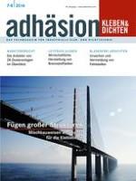 adhäsion KLEBEN & DICHTEN 7-8/2014