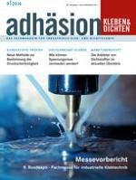 adhäsion KLEBEN & DICHTEN 9/2014