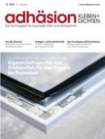 adhäsion KLEBEN & DICHTEN 12/2019