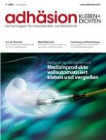 adhäsion KLEBEN & DICHTEN 3/2020