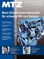 MTZ - Motortechnische Zeitschrift 1/2009